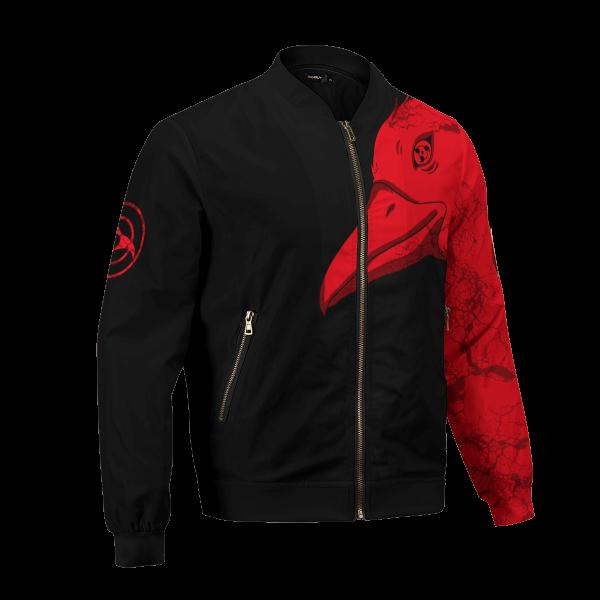 itachi summoning crow bomber jacket 126029 - Anime Jacket