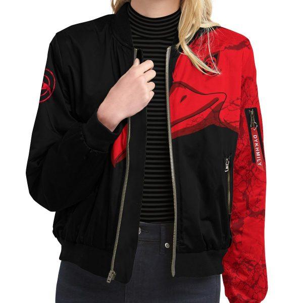 itachi summoning crow bomber jacket 145706 - Anime Jacket