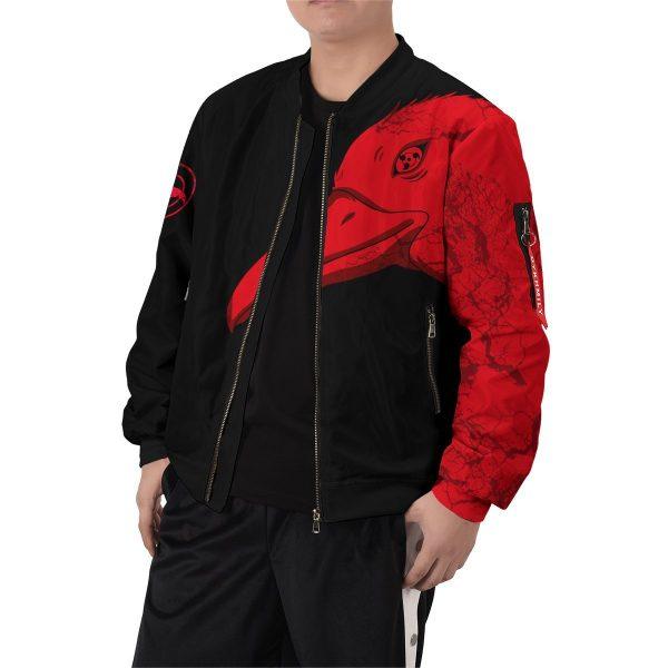 itachi summoning crow bomber jacket 191378 - Anime Jacket