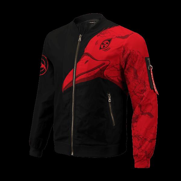 itachi summoning crow bomber jacket 202504 - Anime Jacket