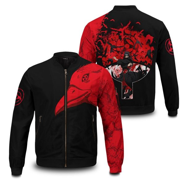 itachi summoning crow bomber jacket 249851 - Anime Jacket