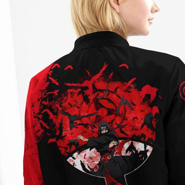 itachi summoning crow bomber jacket 286051 - Anime Jacket