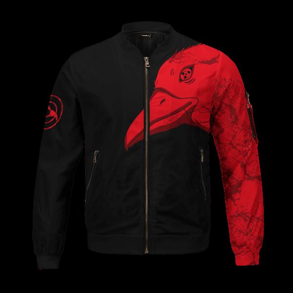 itachi summoning crow bomber jacket 616194 - Anime Jacket