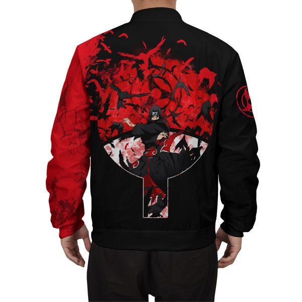 itachi summoning crow bomber jacket 973905 - Anime Jacket