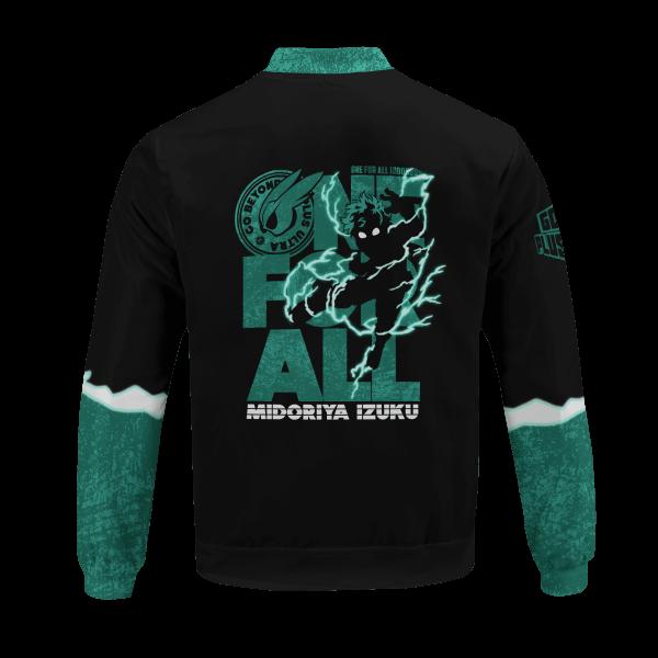 izuku midoriya bomber jacket 193381 - Anime Jacket