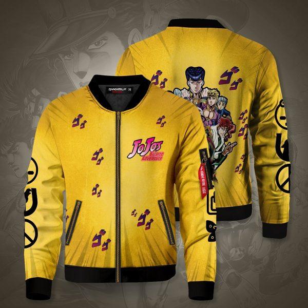 jojos bizarre adventure bomber jacket 811816 - Anime Jacket