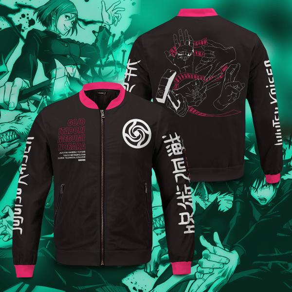 jujutsu kaisen bomber jacket 842070 - Anime Jacket