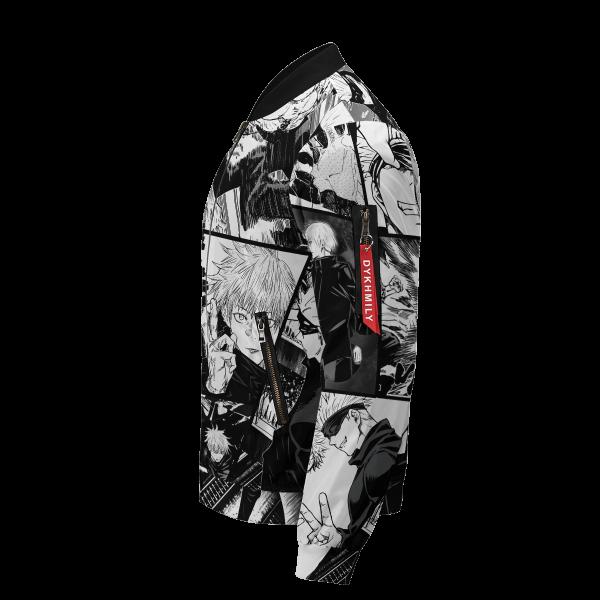 jujutsu kaisen gojo bomber jacket 133439 - Anime Jacket