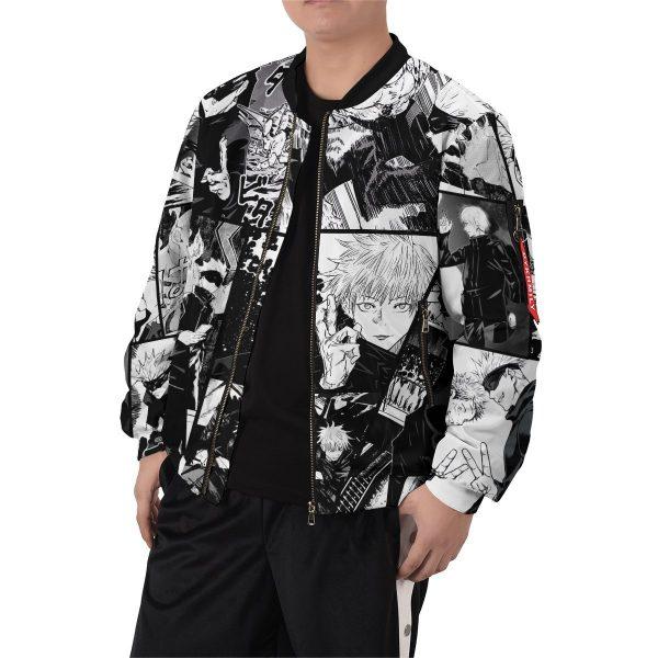 jujutsu kaisen gojo bomber jacket 184115 - Anime Jacket