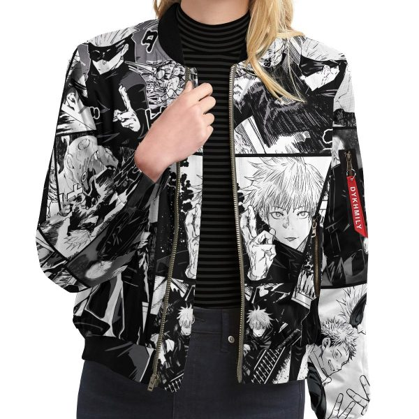 jujutsu kaisen gojo bomber jacket 218678 - Anime Jacket
