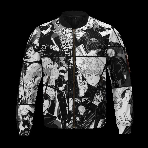 jujutsu kaisen gojo bomber jacket 470028 - Anime Jacket