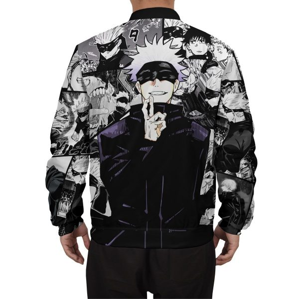 jujutsu kaisen gojo bomber jacket 545235 - Anime Jacket