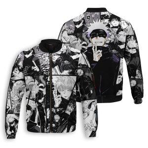 jujutsu kaisen gojo bomber jacket 571317 - Anime Jacket