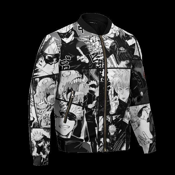 jujutsu kaisen gojo bomber jacket 724617 - Anime Jacket