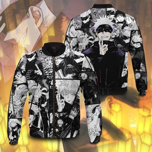 jujutsu kaisen gojo bomber jacket 788471 - Anime Jacket