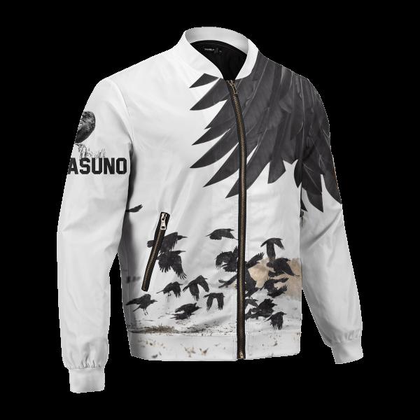 karasuno crows bomber jacket 330968 - Anime Jacket