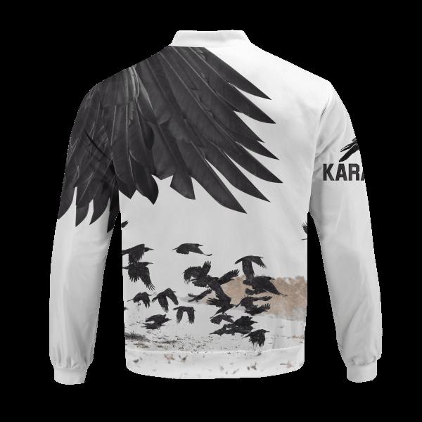karasuno crows bomber jacket 490657 - Anime Jacket