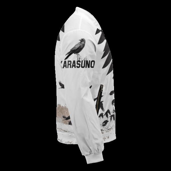 karasuno crows bomber jacket 667252 - Anime Jacket