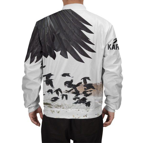 karasuno crows bomber jacket 922840 - Anime Jacket