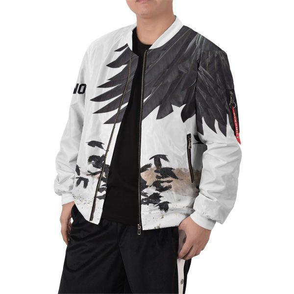 karasuno crows bomber jacket 942640 - Anime Jacket
