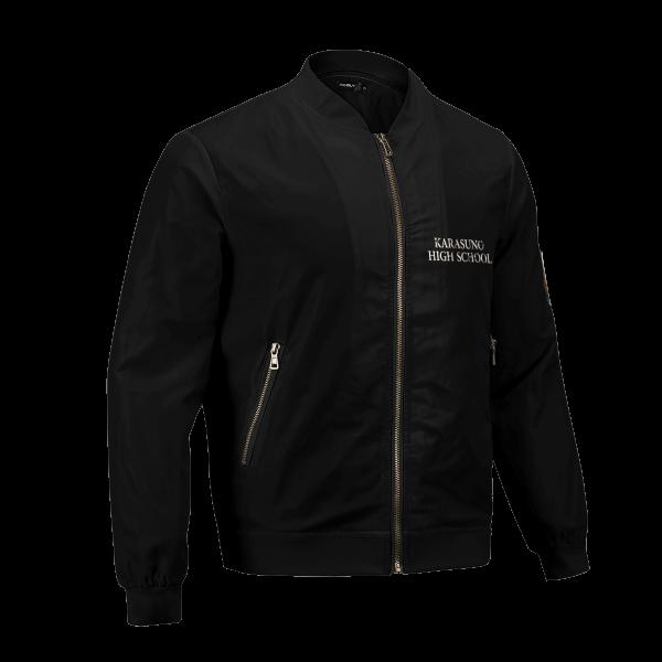 karasuno rally bomber jacket 223467 - Anime Jacket
