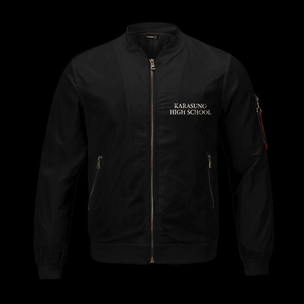 karasuno rally bomber jacket 442451 - Anime Jacket