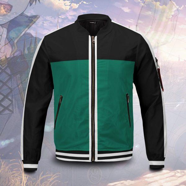 kazuma sato bomber jacket 350269 - Anime Jacket