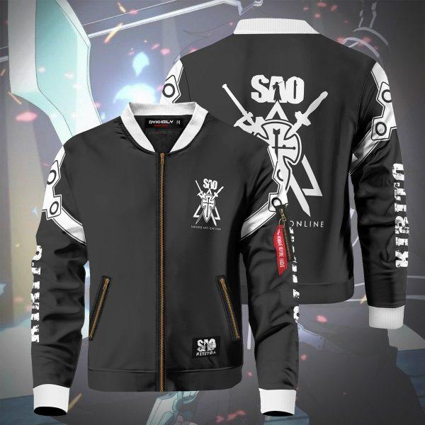 kazuto kirigaya bomber jacket 117479 - Anime Jacket