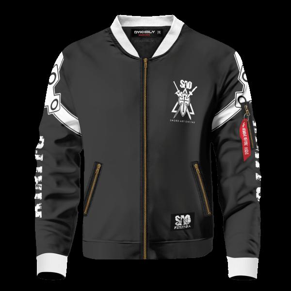 kazuto kirigaya bomber jacket 354281 - Anime Jacket