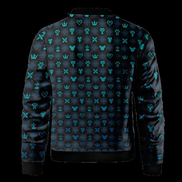khearts pattern bomber jacket 471012 - Anime Jacket