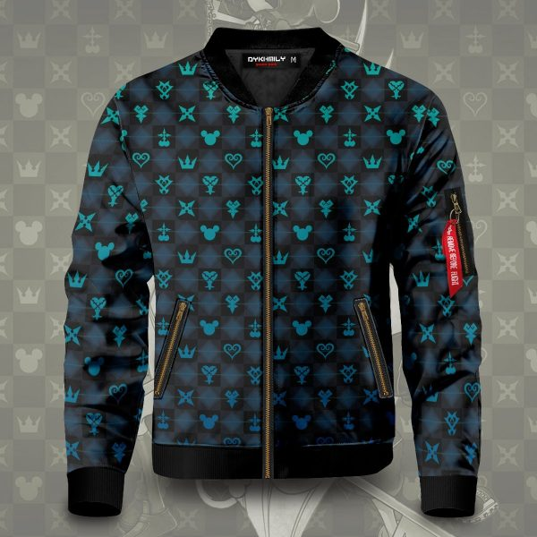 khearts pattern bomber jacket 484825 - Anime Jacket