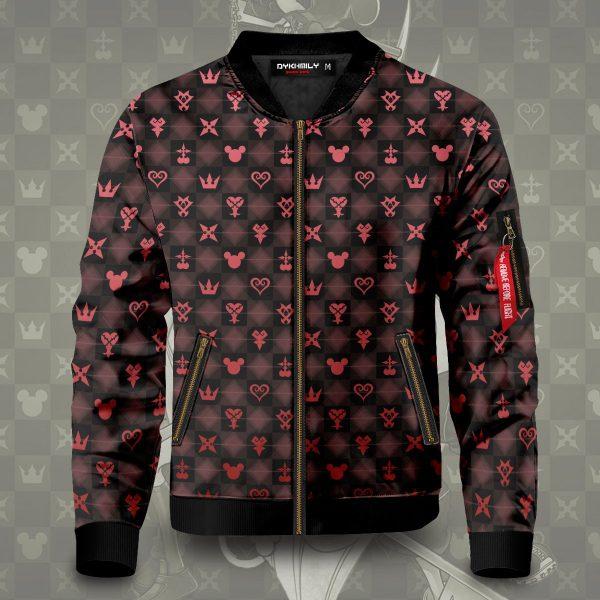 khearts pattern bomber jacket 657703 - Anime Jacket