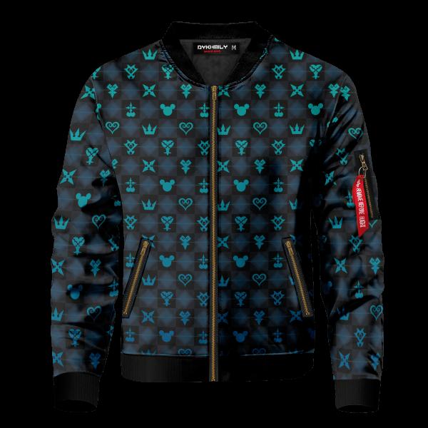 khearts pattern bomber jacket 728973 - Anime Jacket