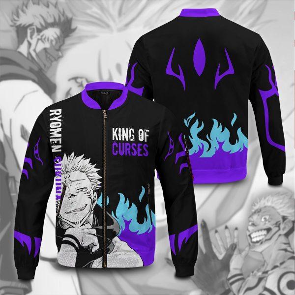 king of curses bomber jacket 144380 - Anime Jacket