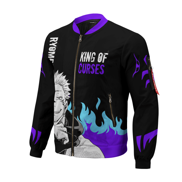 king of curses bomber jacket 614178 - Anime Jacket