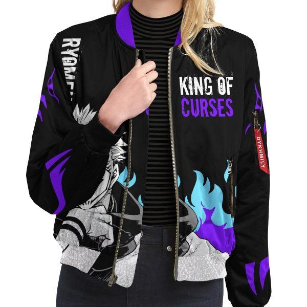king of curses bomber jacket 683872 - Anime Jacket