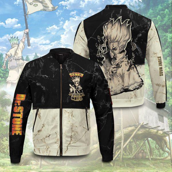 kingdom of science bomber jacket 101721 - Anime Jacket