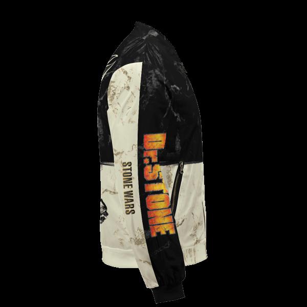 kingdom of science bomber jacket 109735 - Anime Jacket