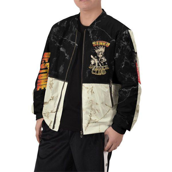 kingdom of science bomber jacket 123579 - Anime Jacket