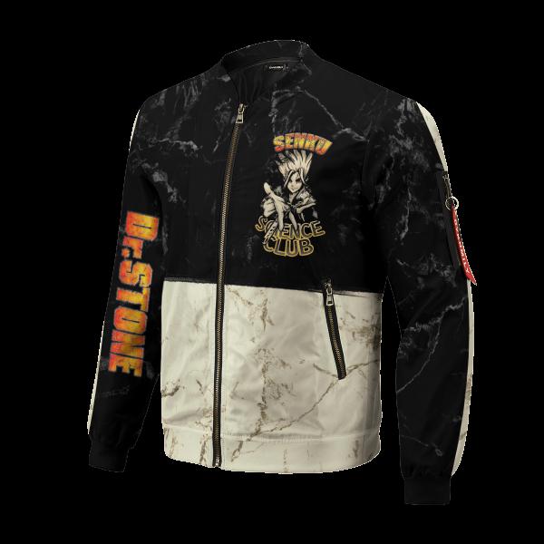 kingdom of science bomber jacket 313435 - Anime Jacket