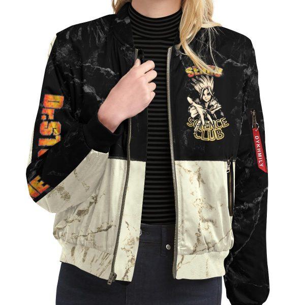 kingdom of science bomber jacket 502221 - Anime Jacket