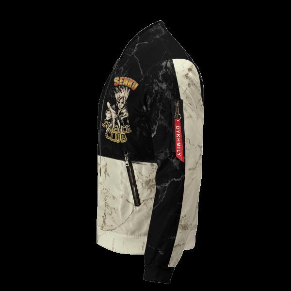 kingdom of science bomber jacket 683555 - Anime Jacket