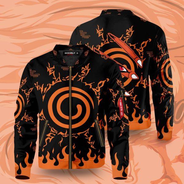 kurama bomber jacket 371148 - Anime Jacket