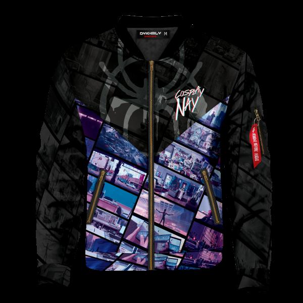 leap of faith signed bomber jacket 208838 - Anime Jacket