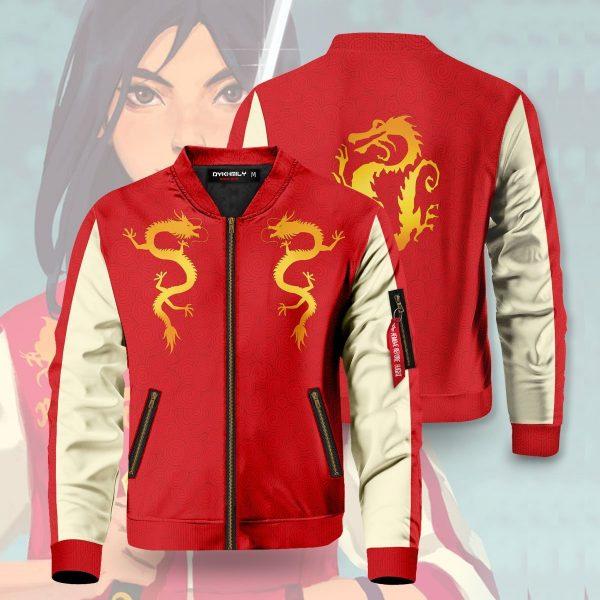 legendary warrior bomber jacket 650517 - Anime Jacket