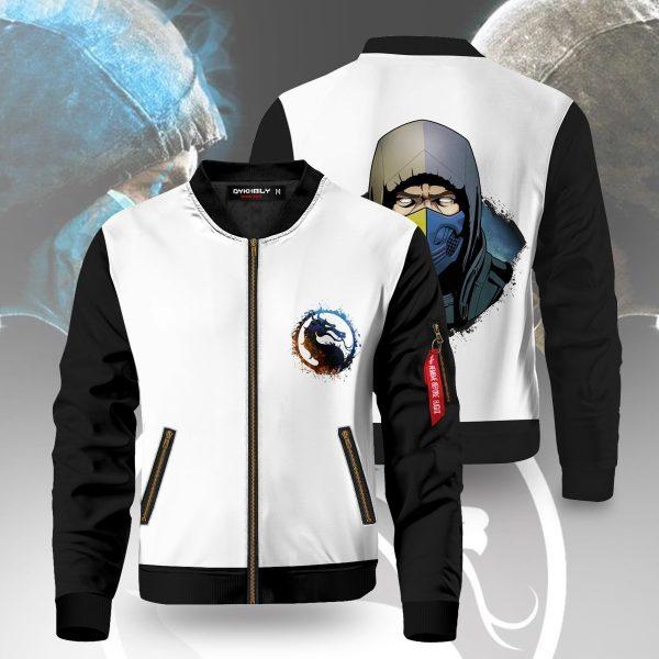 lin kuei x shirai ryu bomber jacket 141686 - Anime Jacket