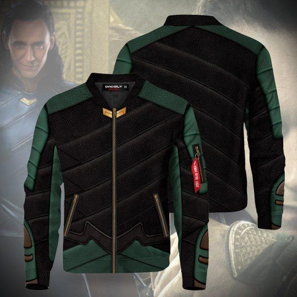 loki laufeyson bomber jacket 327665 - Anime Jacket