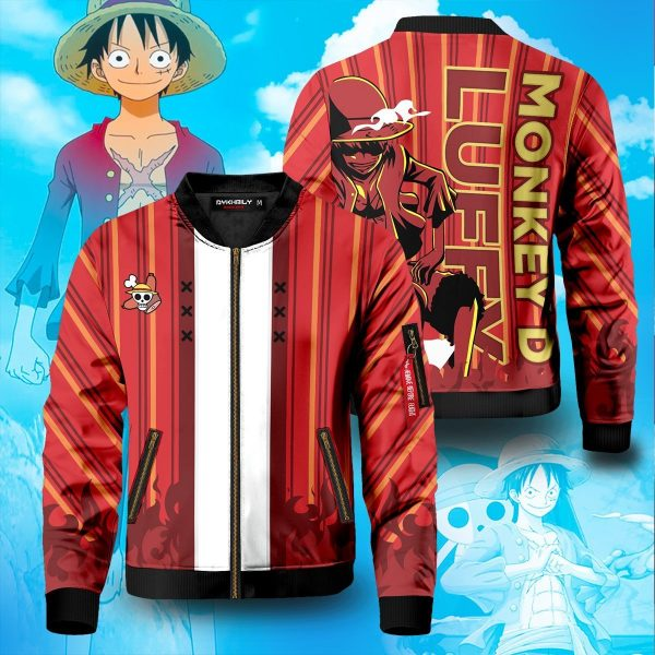luffy bomber jacket 534519 - Anime Jacket