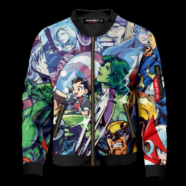 marvel vs capcom bomber jacket 226476 - Anime Jacket