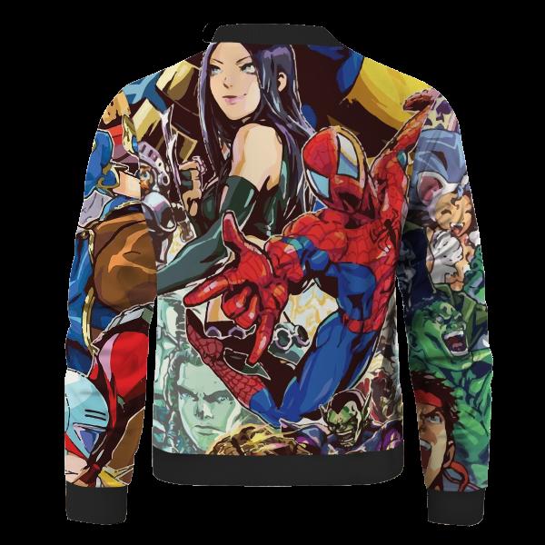 marvel vs capcom bomber jacket 705261 - Anime Jacket